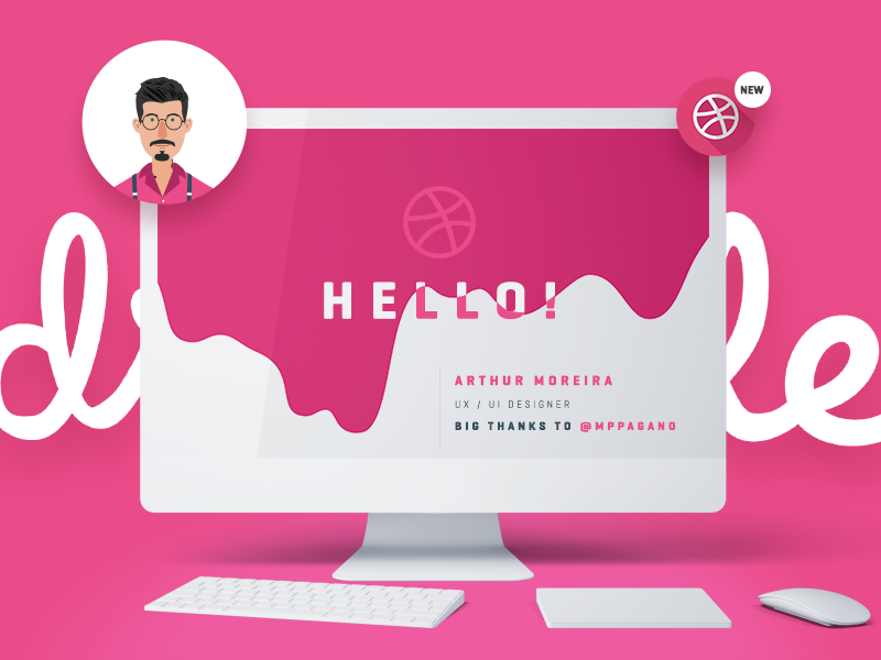 Hello Dribbble hello  dribbble firstshot ux ui webdesign