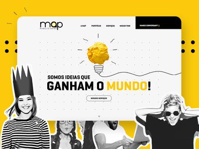 Agency Map design agency ux ui website