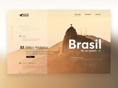 Traveler Website Concept