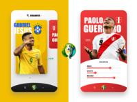 Copa America 2019 - Finals ui soccer app