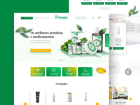 Formulize - Phamarcy Website ecommerce product design ux ui