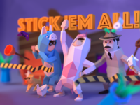 Stick'em All Game Splash