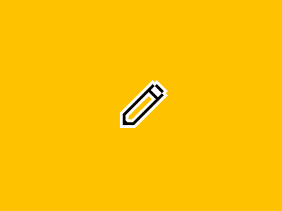 New Pencil Tool ✏️ vectors 2d motion pencil draw icon vector after effects uxpin illustration animation
