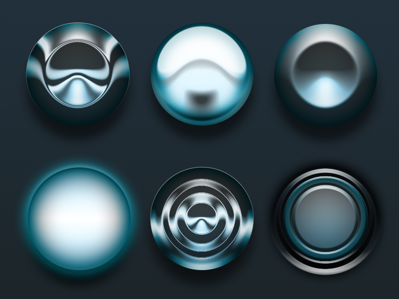 One Layer Style - Circles .PSD photoshop free psd layer styles