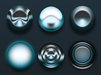 One Layer Style - Circles .PSD