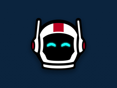 Neo's new look neo space tech animation character low-code outsystems astronaut mascot illustration icon