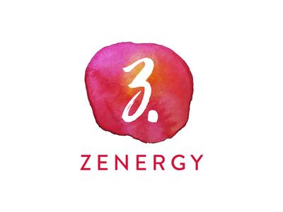 Zenergy colour bright branding logo