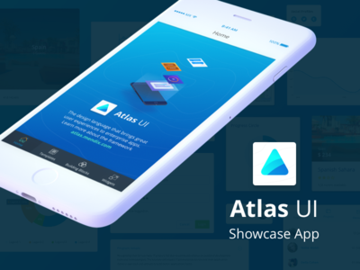 Mendix Atlas UI Showcase App showcase mobile app illustration design ux atlasui ui mendix