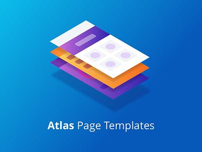 Atlas UI - Page Templates mendix ux gradient templates pagetemplates illustration design ui atlasui