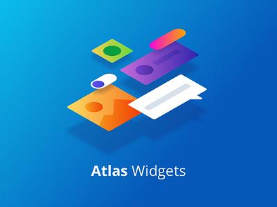 Atlas UI - Widgets ux ui templates pagetemplates mendix illustration gradient design atlasui
