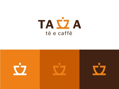 Visual Identity Tazza tè e caffè tea logo tea coffee logo coffee logo design logodesign identity design identitydesign identity branding logo diseño grafico graphic design graphicdesign design