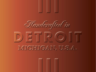 Handcrafted in Detroit, Cont'd detroit glass lockup whiskey whisky