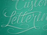 Custom Lettering, Detail