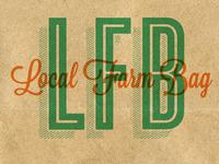 Local Farm Bag Logo Roughs