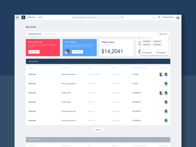Movidiam Dashboard Redesign ux modal dashboard website user interface ui