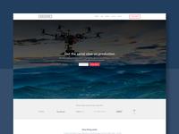 Movidiam Landing Page Design