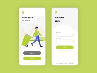 Take it Out App illustration icon minimal design mobile welcome onboarding ux ui log in sign up app design humaaans app