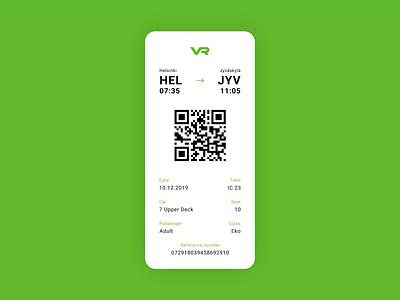 Train Boarding Pass figma dailyuichallenge ticket dailyui boarding pass minimal clean ui