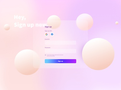 Sign up page / ui firstshot ui design uiux colors ux website web webdesign dailyui 001 daily ui dailyuichallenge dailyui figmadesign figma ui
