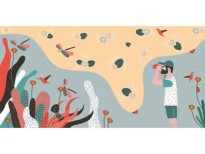 Biomimicry nature illustrator photoshop biomimicry illustration
