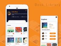 Book Library Concept App