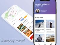 Itinerary travel