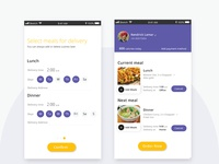 Automating food delivery app