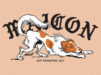 Maicon Douglas | MBMB sketch illustration apparel dog shirt graphic