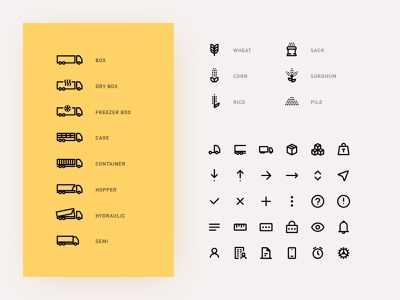 Transport Icons icon truck shipment transport iconography icons pack iconset icons