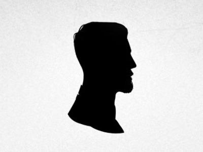 self portrait silhouette by james newton dribbble. Black Bedroom Furniture Sets. Home Design Ideas