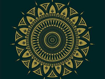 Mandala Creation yin and yang divine design spiritual awakening design graphic designer adobe illustrator mandalas balance symmetry mandala