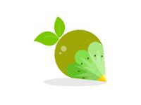 Kiwi Fruit Logo