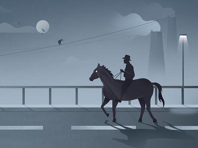 Moment vector illustration