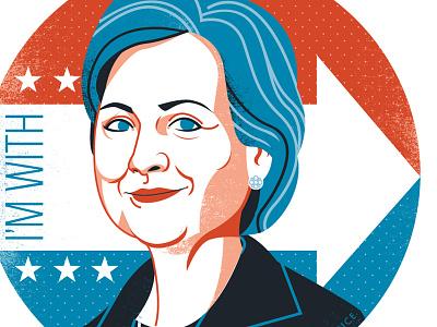 Hillary hillary clinton portrait