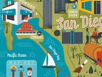 San Diego brewery map
