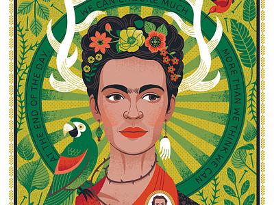 Frida Kahlo Portrait illustration portrait