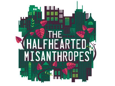Halfhearted Misanthropes music illustration