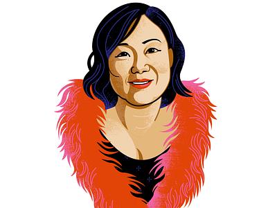 And Margaret Cho! celebrity portrait illustration