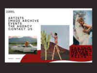 Photographer's website typogaphy sketch live typing branding ecommerce uiux photo web design