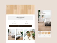 The Augmented Reality Floor Visualiser App app design app live typing shop ecommerce luxury design ui ux interior design ipad ios