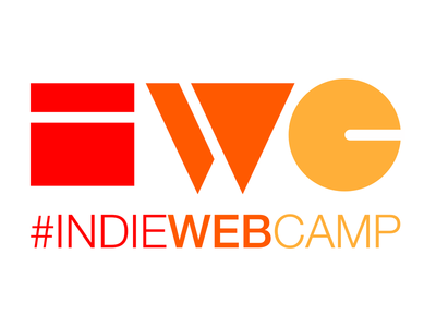 Indie Web Camp Logomark - three color