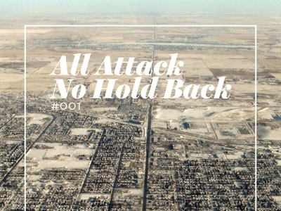 All Attack, No Hold Back print cover magazine aanhb