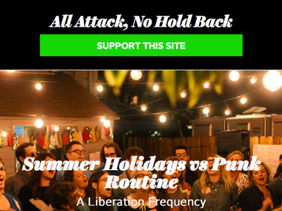 All Attack  No Hold Back Website web magazine aanhb
