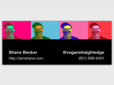 New business cards   front