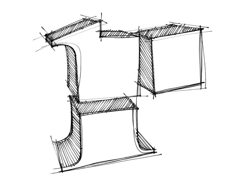 Rubinius — open source cheerleader work art direction events logo sketch rbx rubinius