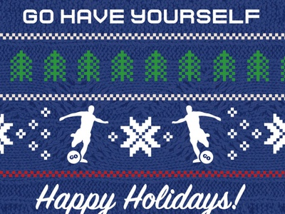 Ugly Sweater Postcard