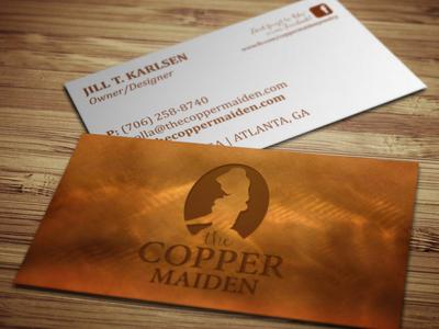 The Copper Maiden Branding
