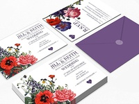 Karlsen Wedding Invitation
