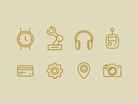 Icons for a pattern