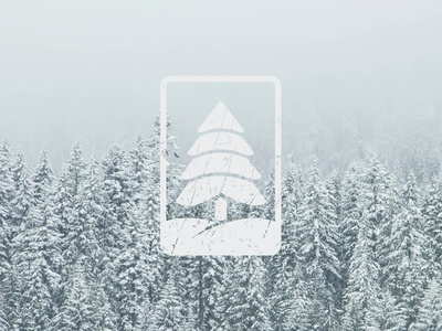 Tree - Forest Service trees tree service icon winter mark wood logo forest